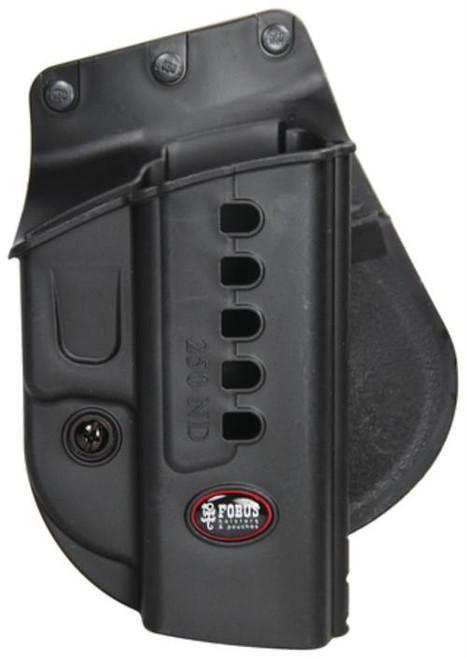 Fobus Evolution 2 Series Paddle Holster For Sig Sauer 250/FN P-9/P-40 Black RH