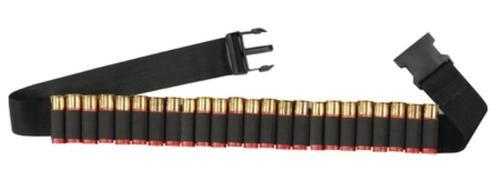 Hunter's Specialties Shotgun Shell Adjustable Belt Black 25 Shotshells