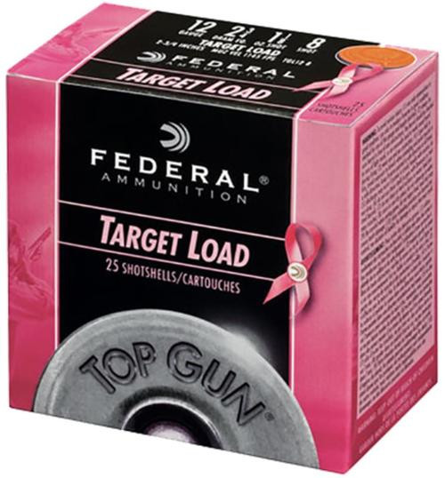 "Federal Target Special Edition 12 Ga, 2.75"", 1-1/8oz, 8 Shot, 25rd/Box"