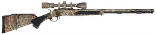 "Traditions Vortek Ultralight .50 Caliber 28"" Barrel 3-9x40mm Scope Hogue Stock Full Realtree AP Camo"