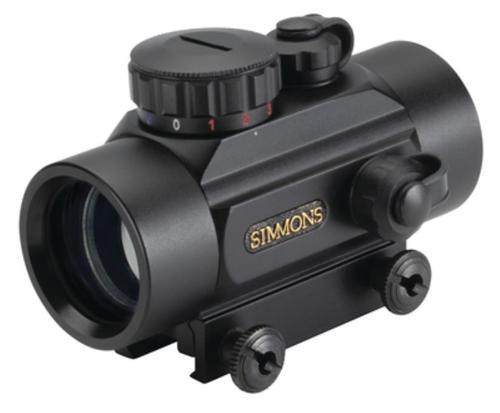 Simmon's Red Dot Sight 1x30mm 3 MOA Dot Reticle, Red/Green/Blue Illum, Matte Black