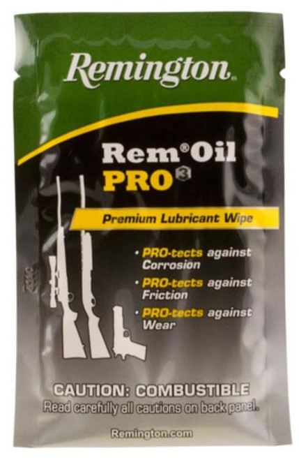 Remington Rem Oil Pro3 Lubricant Wipe