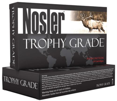 Nosler Trophy Grade .325 Winchester Short Magnum 180gr, E-Tip