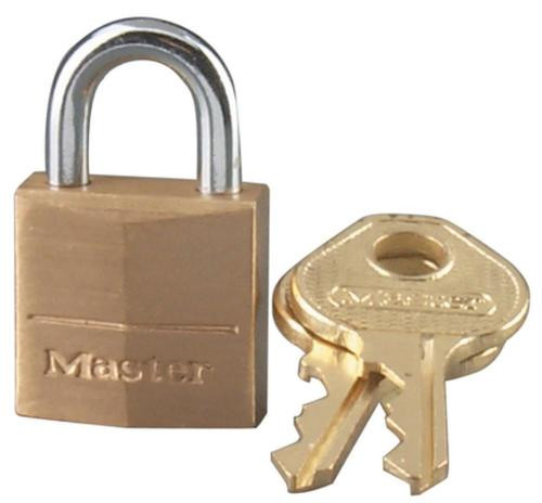 Master Lock Pin Tumbler Solid Brass Locks Keyed Differently