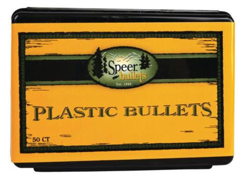 Speer Reusable Plastic Wadcutter Training Bullets .38 Caliber 50rd/Box
