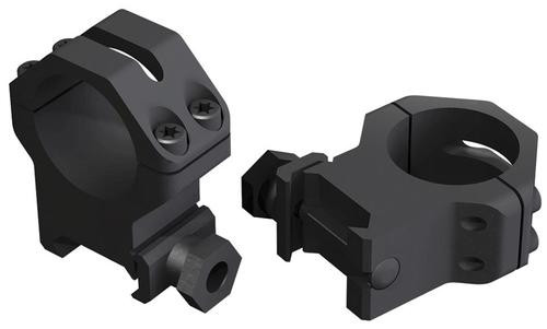 "Weaver Mounts Tactical Skeleton Rings 1"" XHigh Matte Black"