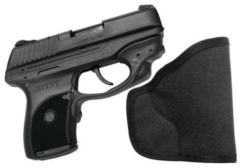 Crimson Trace Lasers Laserguard Series Lasergrip For Ruger LC9 With In The Pocket Holster