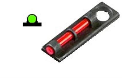 Hiviz Flame Sight, Fits Most Ventilated Rib Shotguns, Green