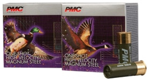 PMC One Shot HV Magnum Steel, 20 Ga, 3 #3, 1 Oz, 25rd/Box