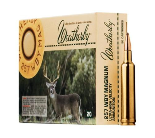 Weatherby .257 Weatherby Mag 115gr, Nosler Ballistic Tip, 20rd Box