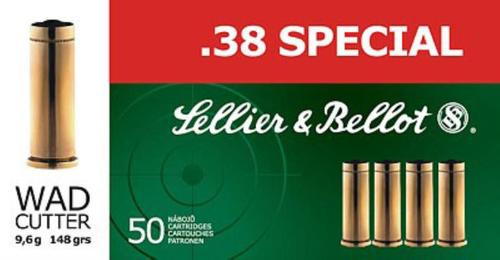 Sellier and Bellot 38 Special 158 LRN 50Rd/Box