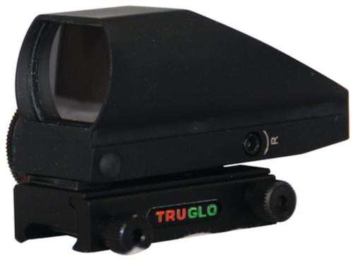 Truglo Tru-Brite Dual Color Open Red-Dot Sight 5 MOA Dot Black