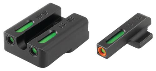Truglo Brite-Site TFX Pro for H&K Green Rear Green with Orange Focus Lock Front Sight