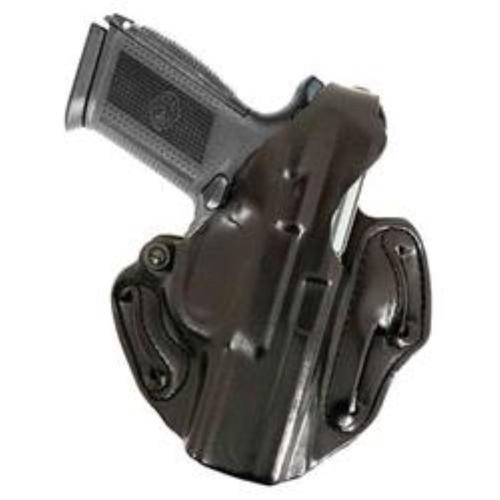 DeSantis Thumb Break Scabbard, Glock 19, 23, 32, RH, Black Leather