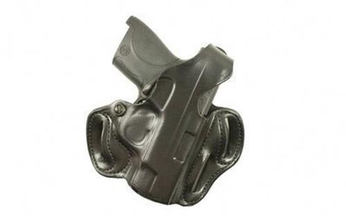 DeSantis Thumb Break Scabbard Belt Holster, S&W Shield, RH, Black, Leather