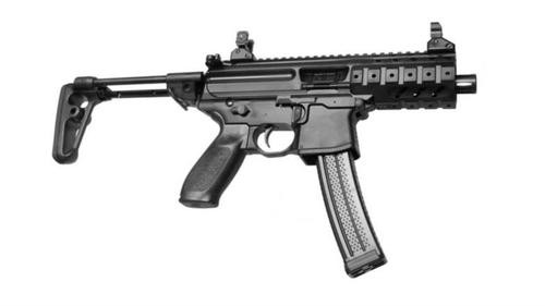 "Sig MPX PDW 9mm, SBR, NFA Rules Apply, 4.5"" Barrel, KM, 30rd"