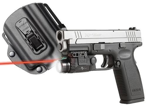 """Vir X5LR-PACK-X3, Hlst SPG XD/XDM Red Laser 5mW .50""""@50ft"""