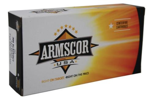 Armscor .300 AAC Blackout 208gr, Hornady A-Max, 20rd Box