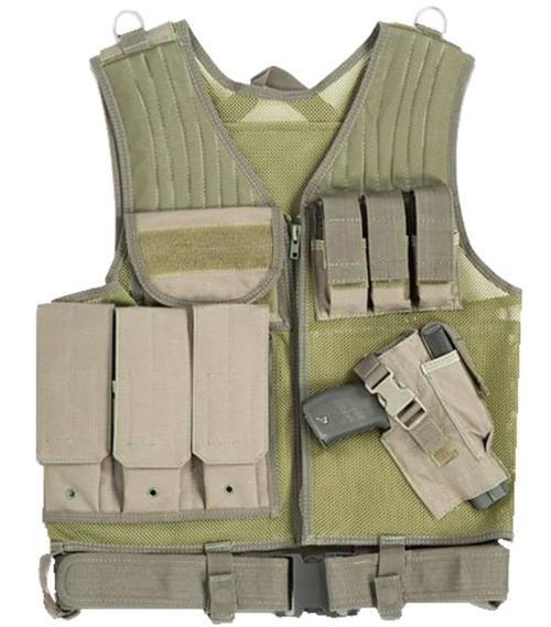 Drago Gear Fast Draw Vest Tactical Green Mesh Net