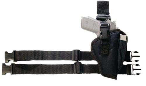 Bulldog Cases Tactical Leg Holster Size 8, 3.5-5