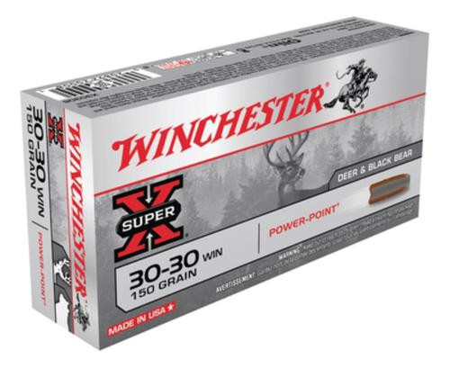 Winchester Super-X .30-30 Winchester 150gr Power-Point, 20rd Box