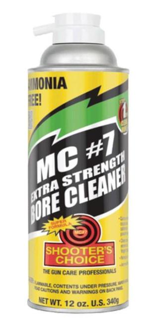 Shooter's Choice MC7 Extra Strength Bore Cleaner 12oz Aerosol