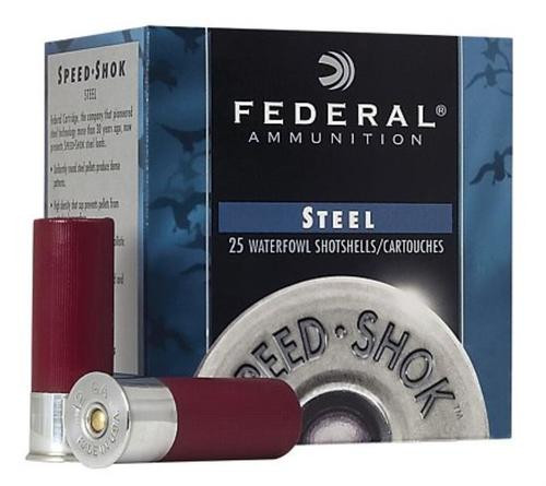 "Federal Speed-Shok Waterfowl 12 GA, 2.75"", 1 oz, 7 Shot, 25rd/Box"