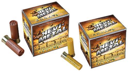 "HEVI-Shot HEVI-Metal Pheasant 12 Ga, 2.75"", 1-1/8oz, 5 Shot, 25rd/Box"