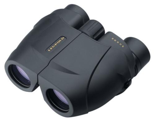 Leupold Green Ring Rogue Compact Binoculars 10X25mm Black