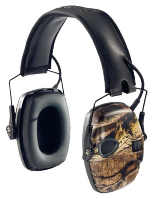 Howard Leight Impact Sport Camo Electronic Muff 22dB Overhead Band