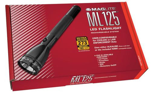 Maglite ML125 LED 193 Lumen, Battery/Charger