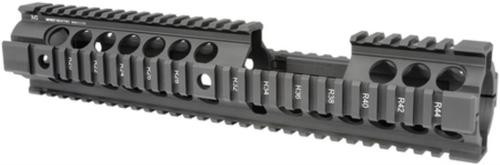Midwest Gen2 Two-Piece Free Float Handguard Extended Length Carbine Black