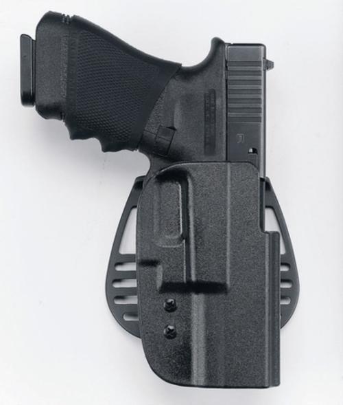 Uncle Mike's Kydex Paddle Holster 21, Glock 17/22, Black Kydex