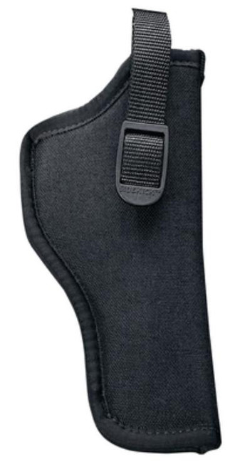 "Uncle Mike's Hip Holster 08-1, 5-6"" Double and Single Action Revolver, Black Nylon"