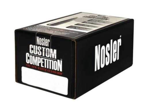 Nosler Competition Rifle Bullets .323 Diameter 200 Hollow Point Boattail