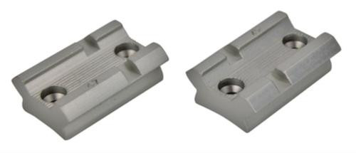 Weaver Top Mount Base Pair Savage 110 With Accutrigger Silver