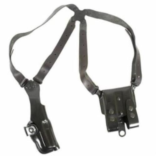Galco Vertical Shoulder Glock 17/19/22/23/31/32 Ambi Black