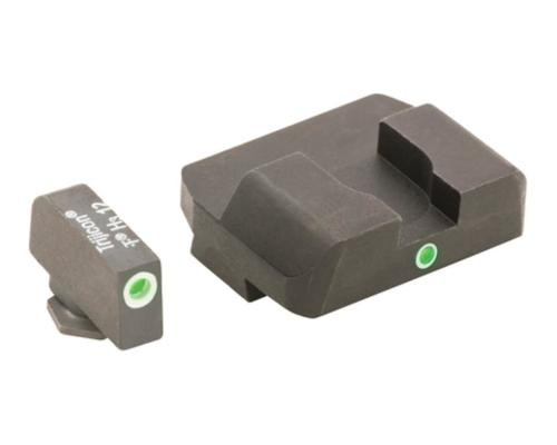 AmeriGlo Glock I-Dot Night Sights Green Front & Rear For Glock 17,19,22,23,24,26,27,34,35,37,38,39