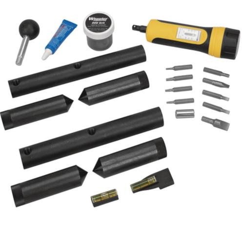 Wheeler Professional Scope Mounting Kit, Black