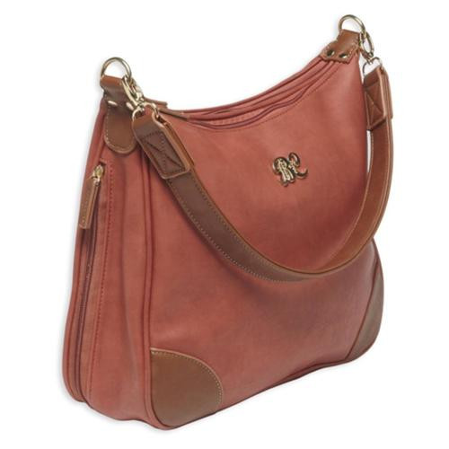 Bulldog Cases Hobo Style Purse, Holster Brick Red/Tan