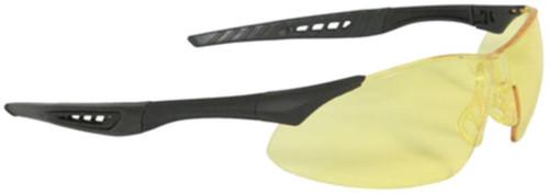 Radians Rock X-Treme Anti-Fog Shooting Glasses Amber Lens Black Frame
