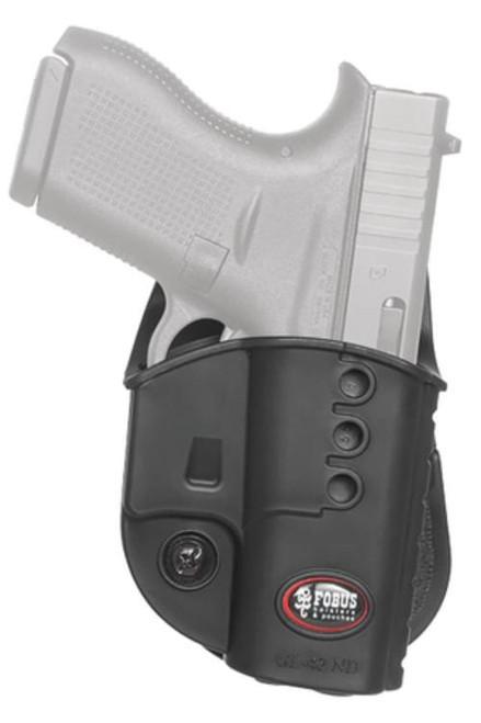 Fobus Evolution 2 Series Belt Holster For Glock 42 Black Right Hand