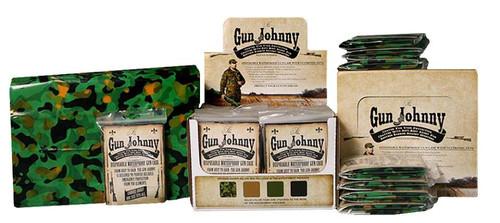 """Gun Johnny Disposable Waterproof Gun Bag Treated Plastic 12""""x70"""" Green"""