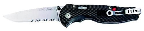 Sog Knife Flash Ii Satin Polish Serrated
