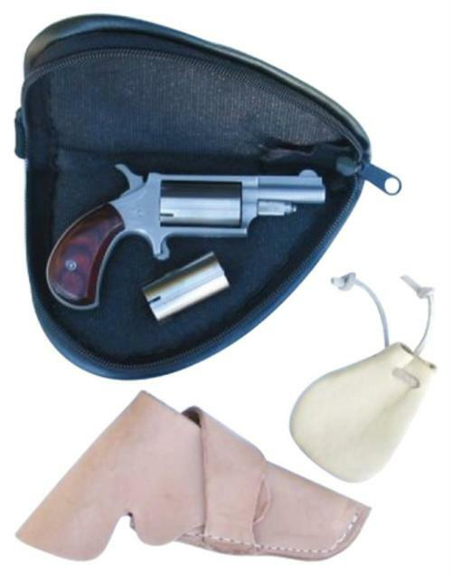 "North American Arms Companion Super Cap And Ball Revolver .22 Caliber 1.875"" Barrel Stainless Steel 5 Shot"