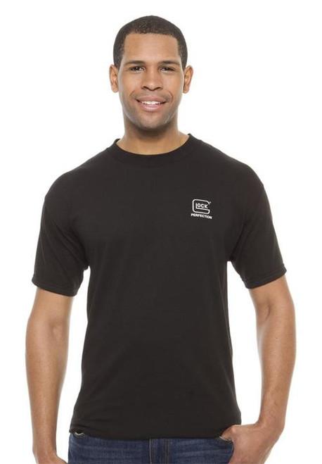 Glock Short Sleeve Perfection T-Shirt Medium Cotton Black