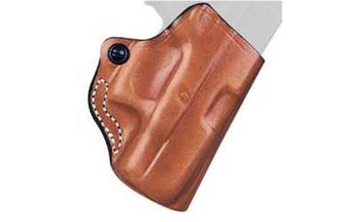 Desantis Mini Scabbard Belt Holster, Fits Ruger SR22, Right Hand, Tan