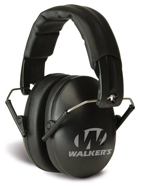 Walker's Game Ear Pro Earmuffs, Black