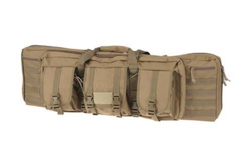 """Drago Gear 12-301TN Double Gun Case 37"""" x 14"""" x 12.5"""" Exterior 600D Polyester T"""