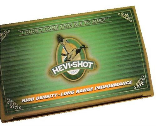 "HEVI-Shot Duck 12 Ga, 2.75"", 1-1/4oz, 4 Shot, 10rd/Box"